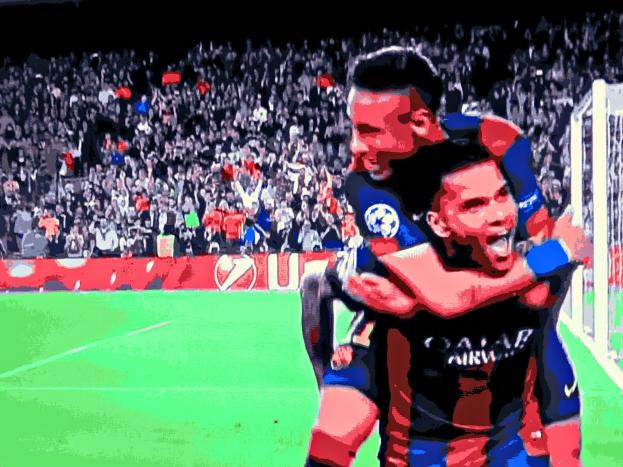 Neymar e Daniel Alves