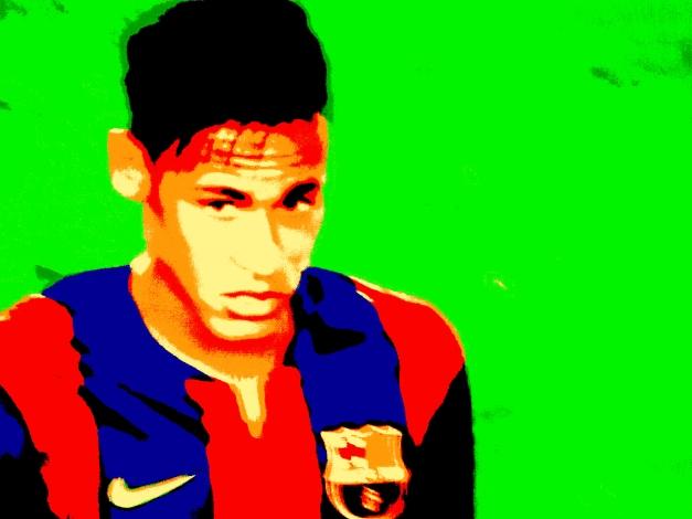 Neymar poupa energia