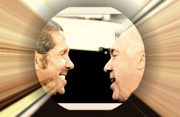 Simeone e Ancelotti 1
