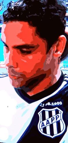 Diego Oliveira: gol de empate nos acréscimos