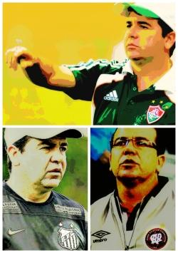 Enderson em 2015: Flu, após Santos e Atlético