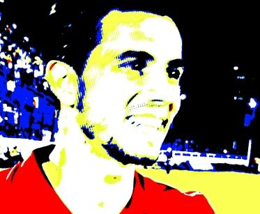 Nilmar: um gol e homenagem a Romário