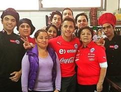 Alexis Sánchez no Instagram
