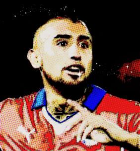 Arturo Vidal: atração de Chile x Bolívia