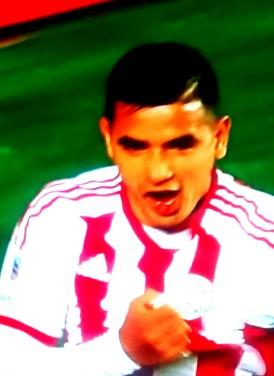 González: decisivo para o Paraguai
