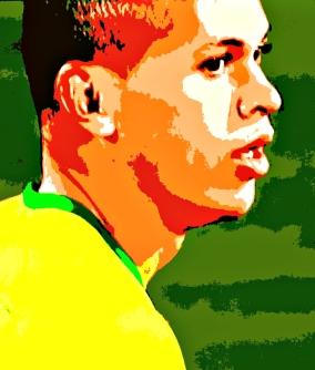 Marcos Guilherme: dois gols no 5 a 0