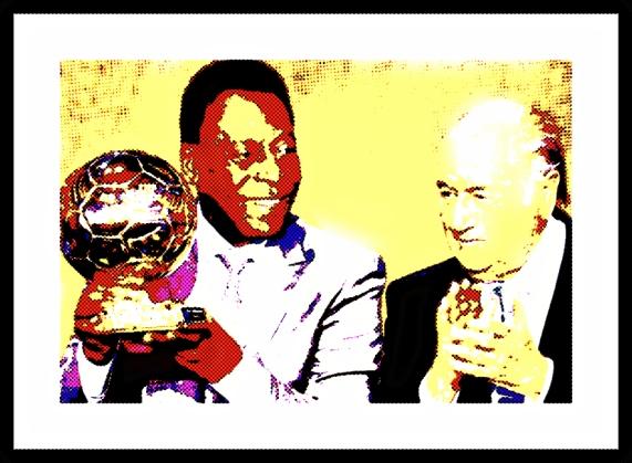 Pelé e Blatter 26