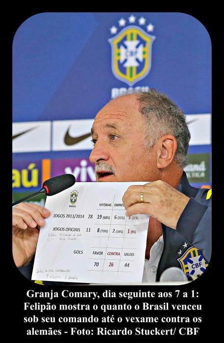 Brasil x Alemanha Felipão 087xxx