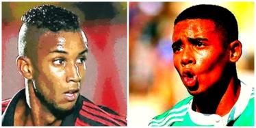 Jorge. do Fla, e Gabriel Jesus, do Palmeiras: gols históricos