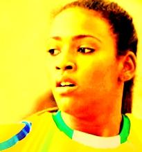 Tamires tinha um ano na última derrota do Brasil