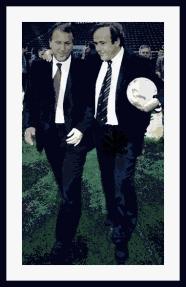 Zico e Platini: adversários na Fifa?