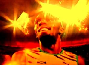Usain Bolt: no revezamento 4 x 100m, o terceiro ouro no Mundial