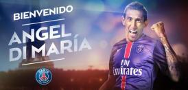 PSG anuncia Di Maria em espanhol