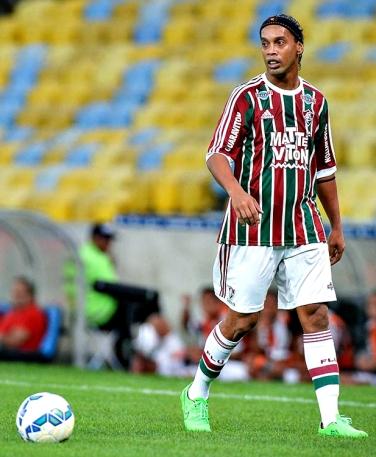 Ronaldinho: primeira viagem pelo Flu - Foto: Alexandre Vidal/Ronaldinho10.net