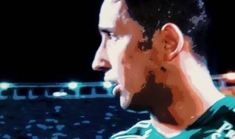 Lucas Barrios: quarto gol na semana anima torcida do Palmeiras