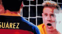 Suárez: bronca de Stegen e gol decisivo