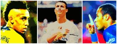 Aubameyang, Cristiano Ronaldo e Neymar: destaques do fim de semana