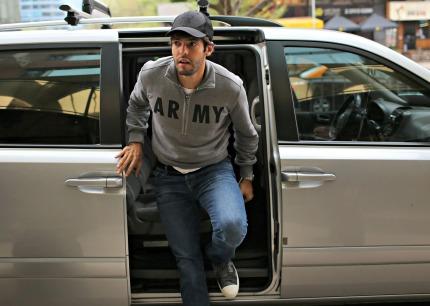 """Kaká, na chegada: """"Vamos encontrar um Chile supermotivado"""" - Foto: Leo Correa/Mowa Press"""