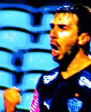 Lucas Pratto: presença nos três gols