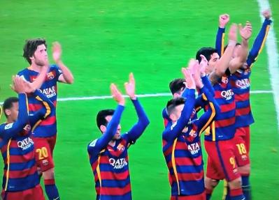 Fim de festa no Santiago Bernabeu: 4 a 0 para o Barcelona
