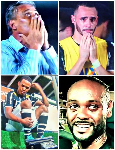 Tite, Renato Augusto, Elias e Vágner Love: caras do Corinthians campeão