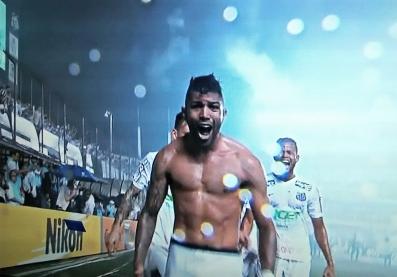Gabigol: depois de perder um pênalti, dá vitória ao Santos