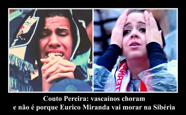 Vascaínos choram no Couto Pereira @0612@